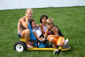 Go Kart Kids PowerPoint Presentation