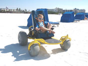 Beach Go Kart Kids Video